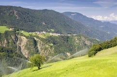 Agriculture biologique au Tyrol du sud Photo libre de droits