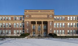 Agriculture Building at the University of Illinois Royalty Free Stock Photography