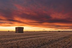 Agriculture, Clouds, Countryside Stock Photos