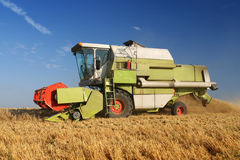 Agriculture - Combine Stock Photography