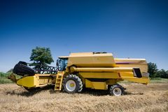 Agriculture - Combine Royalty Free Stock Photography
