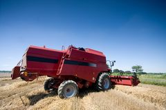 Agriculture - Combine Stock Photo