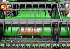 Agriculture Combine Stock Photo