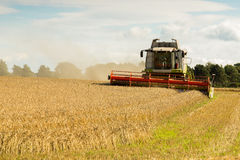 Agriculture combine harvester Stock Image