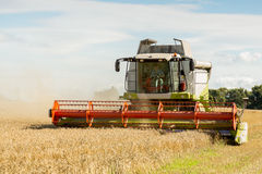 Agriculture combine harvester Stock Photos