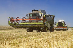 Agriculture - Combines Stock Image