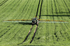 Agriculture - Crop Spraying Stock Photo