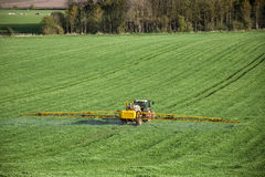 Agriculture - Crop Spraying Royalty Free Stock Images