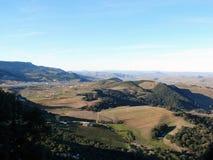 Agriculture dans les montagnes d'atlas du Maroc Image libre de droits