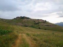 Agriculture de montagne de nature Photographie stock libre de droits