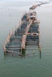 Agriculture de poissons de mer Photographie stock libre de droits