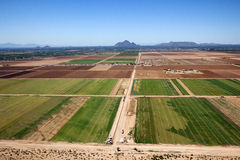 Agriculture de réservation Images libres de droits