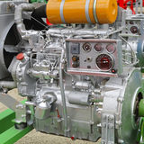 Agriculture Engine. Powerful Diesel Engine for Agricultural Works Royalty Free Stock Photography