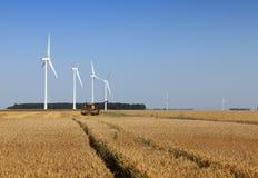 Agriculture et énergie photographie stock libre de droits