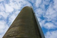 Agriculture farm grain silos Stock Photography