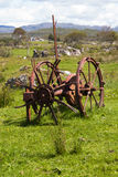 Agriculture,Farm implement, Mechanical, Hay Turner Royalty Free Stock Photos