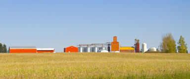 Agriculture and Farming Equipment. Central facility for a local based farming/agriculturale community Royalty Free Stock Image