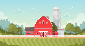 Agriculture And Farming, Farmland Countryside Landscape Royalty Free Stock Photography