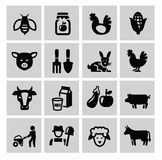 Agriculture and farming Royalty Free Stock Photography