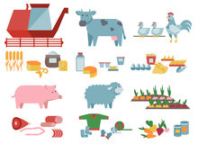 Agriculture and food production Stock Photo