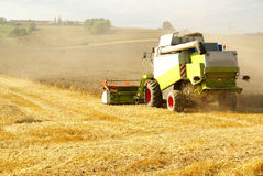 Agriculture harvester Royalty Free Stock Photos