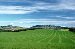 Agriculture hills Stock Image