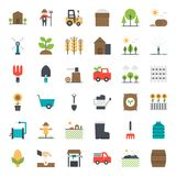 Agriculture icon. Isolated on white background stock illustration