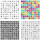 100 agriculture icons set vector variant. 100 agriculture icons set vector in 4 variant for any web design isolated on white Royalty Free Stock Photos