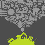 Agriculture2 vector illustration