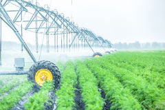 agriculture irrigation machine Stock Image