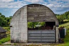 Agriculture jetée Image libre de droits