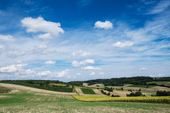 Agriculture Landscape Royalty Free Stock Photography