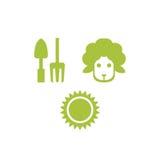 Agriculture Logo Template Images libres de droits