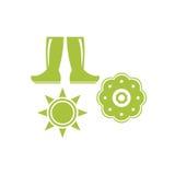 Agriculture Logo Template Photographie stock libre de droits