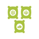 Agriculture Logo Template Royalty Free Stock Photos