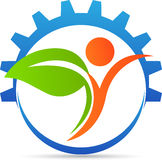 Agriculture logo. A vector drawing represents agriculture logo design vector illustration