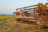 Agriculture machine. Stock Image