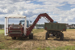Agriculture machines Stock Photos