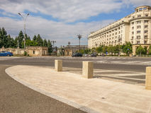 Agriculture minister arhitecture facade from Constitutiei square, Bucharest Stock Photo