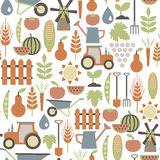 Agriculture pattern Royalty Free Stock Photo