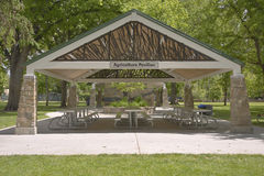 Agriculture pavillion in a park Boise Idaho. Royalty Free Stock Photos