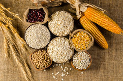 Agriculture products,grains and cereal Stock Photo