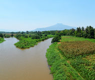Agriculture river Stock Photography