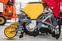 Agriculture seeder machine Royalty Free Stock Images