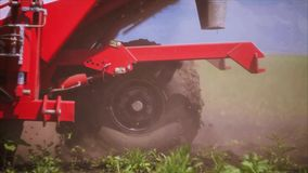 Agriculture seeder stock video footage
