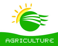 Agriculture symbol Royalty Free Stock Image