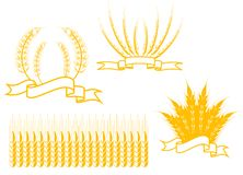 Agriculture symbols Stock Images