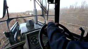 Agriculture Tracteur d'entraînement d'agriculteur clips vidéos