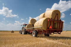 Agriculture - tractor Royalty Free Stock Image
