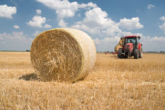 Agriculture - tractor Stock Photography